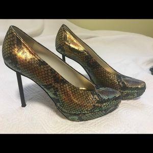 Stuart Weitzman Snake heels
